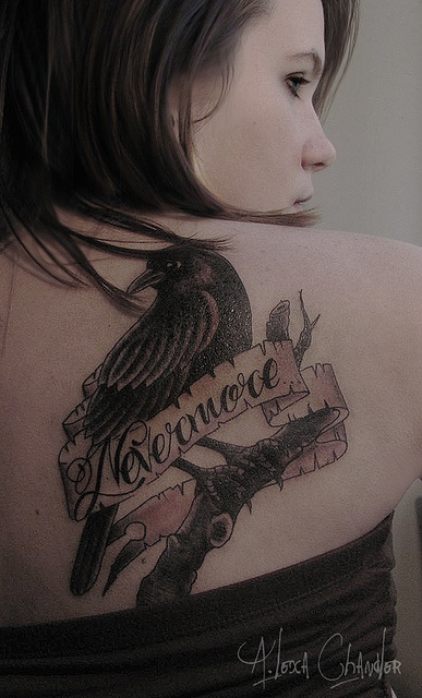 raven. ink Tattoo Art