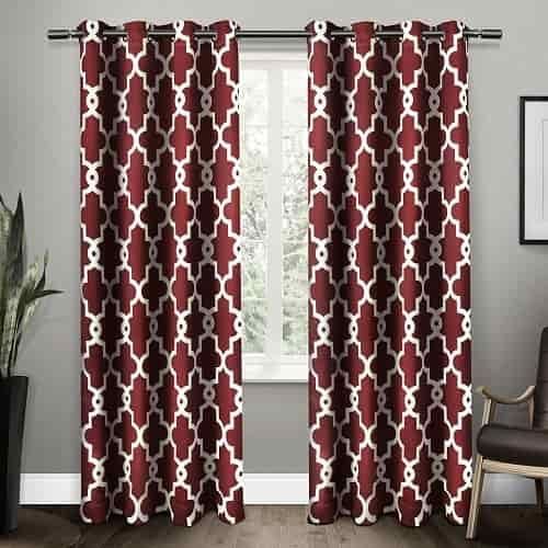 Marvelous 15 Impressive Burgundy Curtains For Living Room To Buy Part 8
