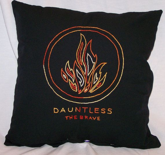 Divergent Inspired Dauntless The Brave Throw by ColoradoComfort, $15.00