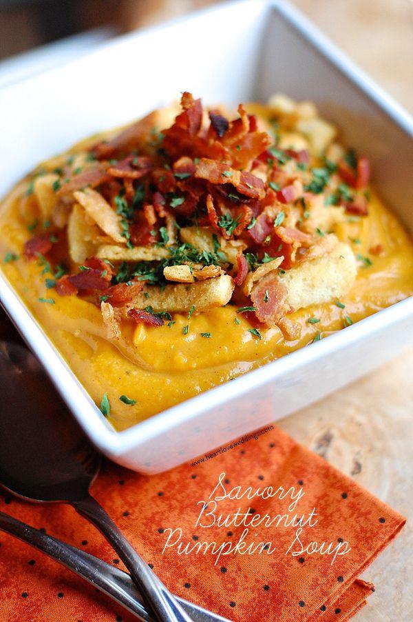 Savory Butternut Pumpkin Soup
