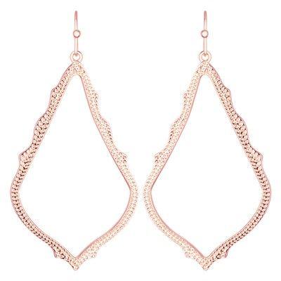 Kendra Scott Sophee Rose Gold Earrings #laylagrayce