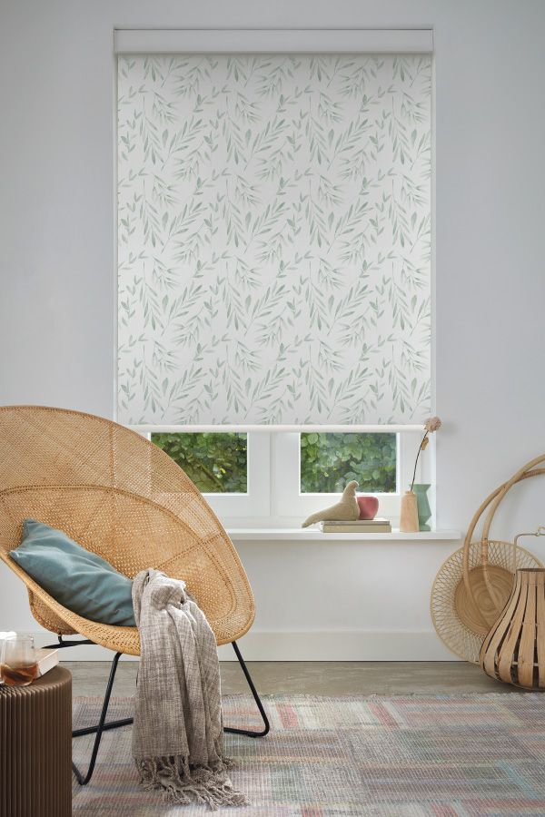 Escape And Embrace Olivia Fern Digital Print Collection For Luxaflex Roller Blinds Magnolia Collection House Interior Interior