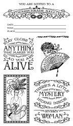 Midnight Masquerade Stamp Set 2