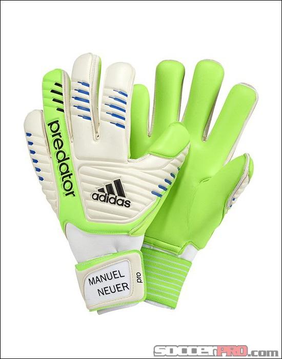 adidas Manuel Neuer Predator Pro Goalkeeper Glove - Macaw with White....$71.98