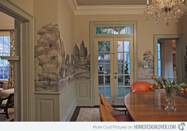 Best 25+ Dining Room Wallpaper Ideas On Pinterest