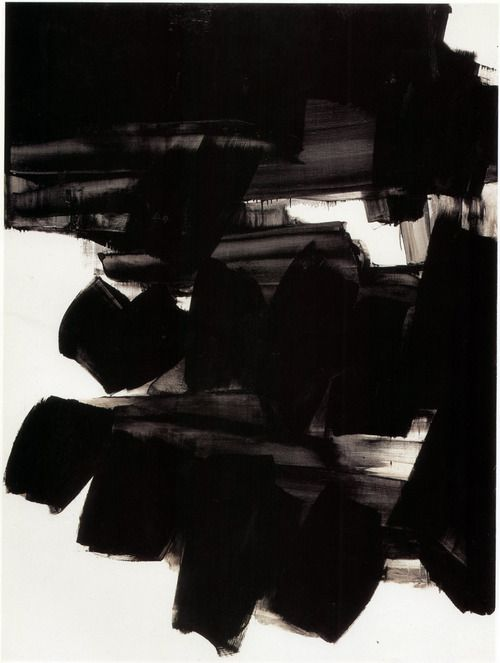 Pierre Soulages- Untitled 1963