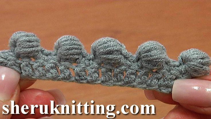 Work Puffy Bullion Block Stitch Crochet Tutorial 40 Part 3 of 7 Great Tr...
