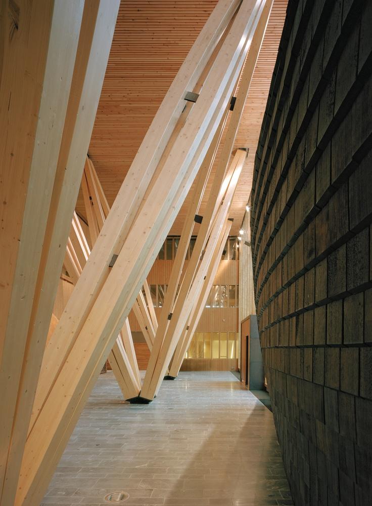 Joensuu Research Centre of the Finnish Forest Research Institute, Joensuu, 2002–2004  Architects: Sarc Architects / Sarlotta Narjus, Antti‐Matti Siikala  Photo: Jussi Tiainen