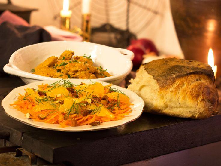 Kyckling i curry | Recept.nu