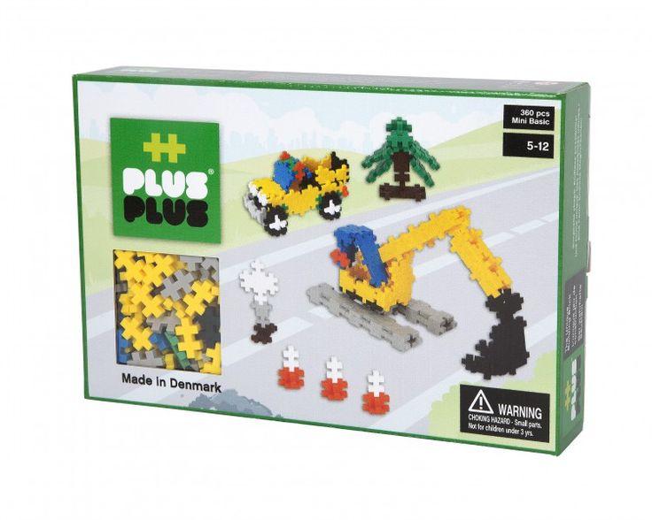 Klocki konstrukcyjne Plus-Plus Mini Basic - Roboty drogowe 360 elementów