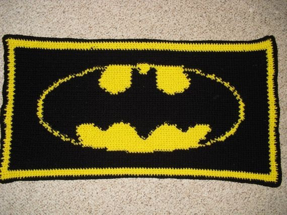 Batman Knitting Chart Pattern : 108 best images about Knit on Pinterest Hockey, Throw pillows and Captain a...