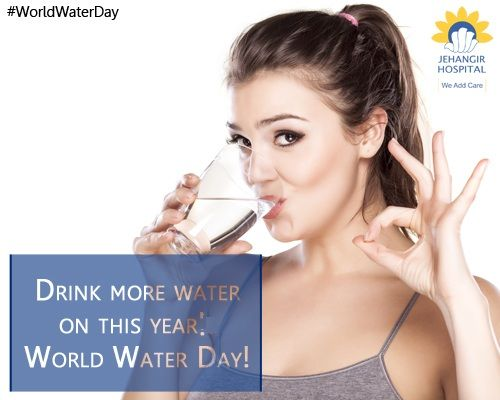 On March 22, 2016, as the world celebrates World Water Day, let's pledge to conserve water on one hand and drink more water and keep healthy on the other! Drinking ample water is the best detox. #WorldWaterDay