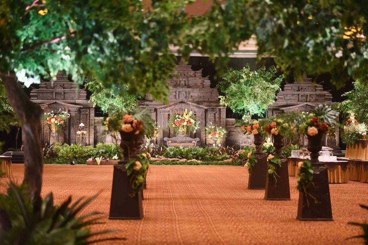 Pernikahan Tradisional Adat Jawa Di Sasana Kriya - Dekor 1