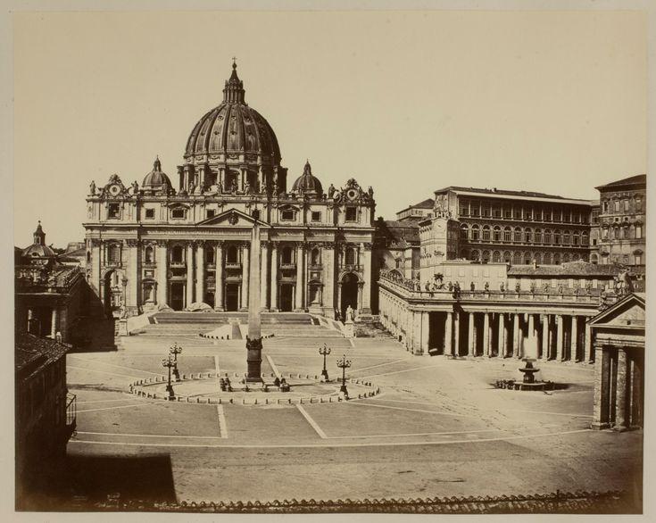 St. Peter's Church, Rome | Works | James Anderson | People | George Eastman Museum