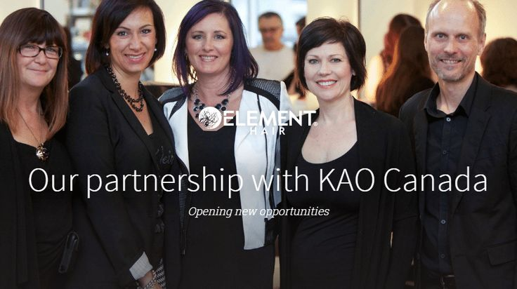 Discover more about the Element Hair and KAO Canada partnership. Continuing education, Goldwell and KMS hair products as well as ongoing inspiration...