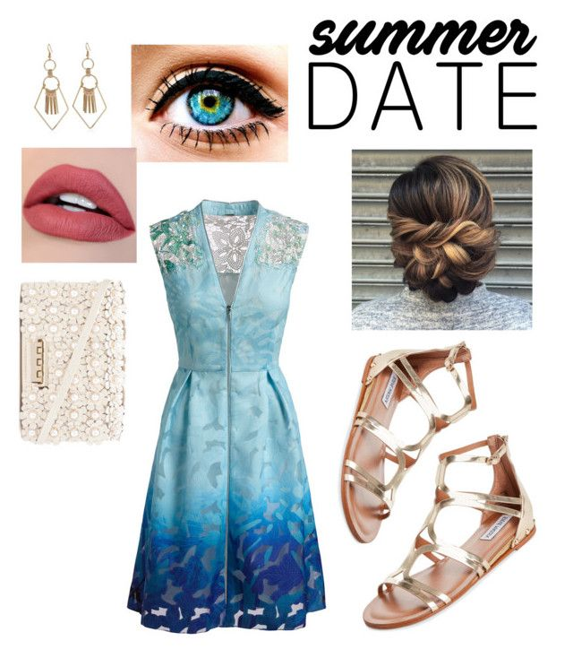 """Summer Date"" by oliviagrace14 ❤ liked on Polyvore featuring Elie Tahari, Steve Madden and ZAC Zac Posen"