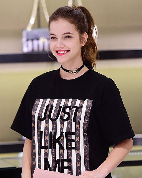 Barbara Palvin at the MetroCity store in Korea