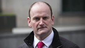 """LONDON, ENGLAND - MARCH 04: United Kingdom Independence Party (UKIP) Member of Parliament, Douglas Carswell, arrives to attend a conference in which the party's immigration policy was unveiled on March 4, 2015 in London, England. UKIP leader Nigel Farage stated that UKIP wants immigration to return to """"normal"""" levels with around 20,000 to 50,000 migrants issued with work permits. (Photo by Carl Court/Getty Images)"""