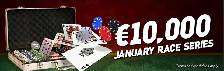 Ladbrokes Poker €10,000 January Race Series