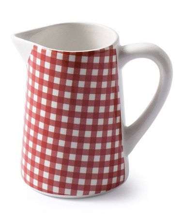 Loving this Red Small Sarah Pitcher on #zulily! #zulilyfinds