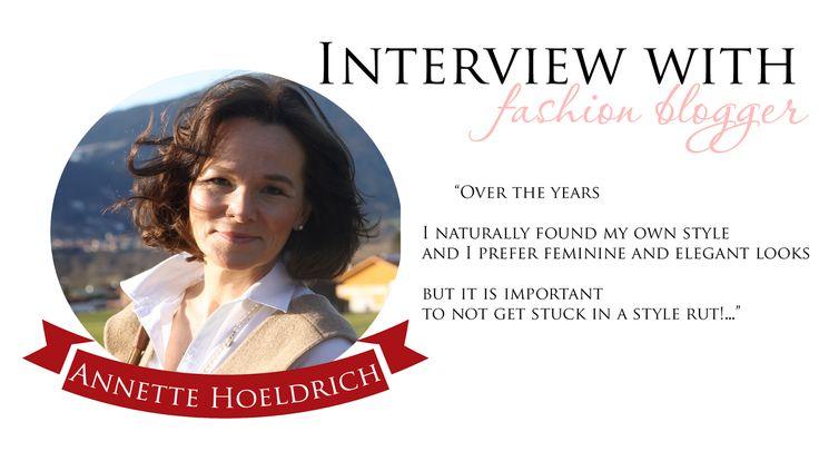 JulieMcQueen: Interview with...Annette Hoeldrich #AnnetteHoeldrich #Interview #FASHION
