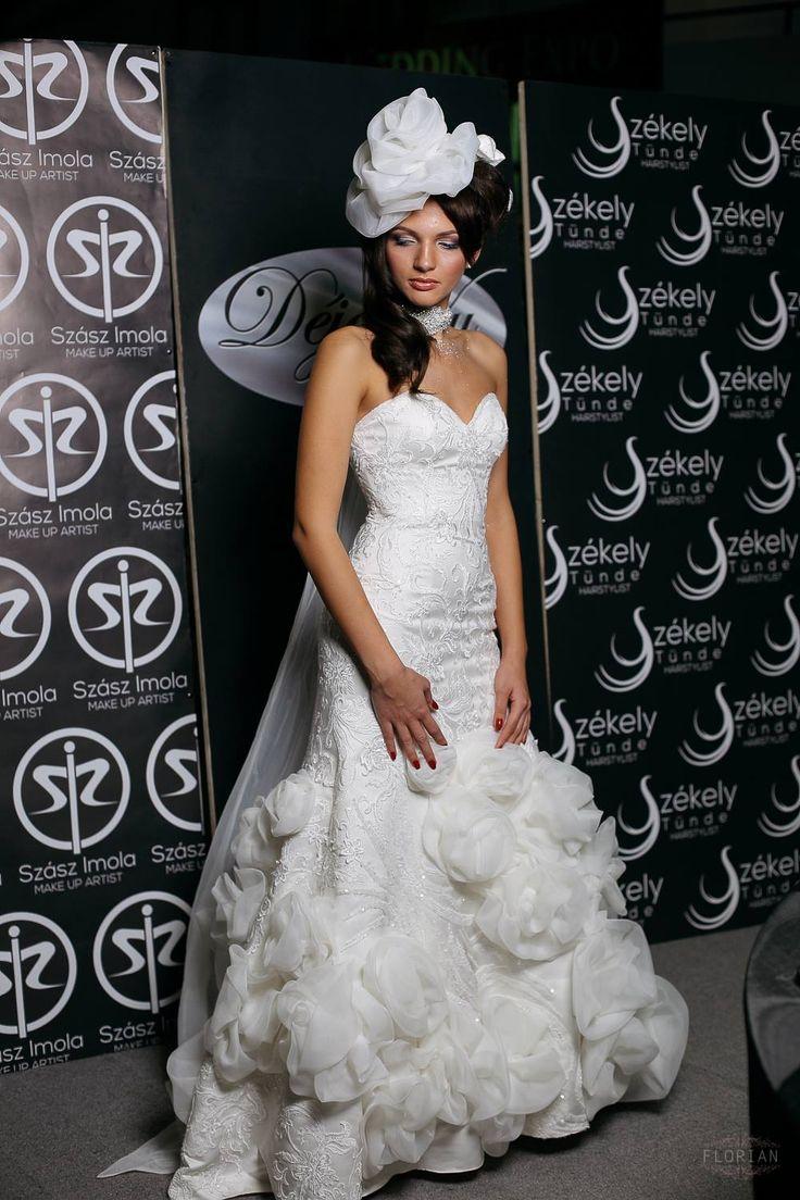 Gown: Emily's Boutique; Makeup: Imola Szasz; Hair: Tunde Szekely; Photo credit: Nagy Florian Photography; Model: Andrea Veress;