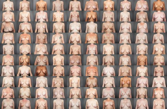 "Laura Dodsworth Photographs 100 Real Women's Breasts In ""Bare Reality"""