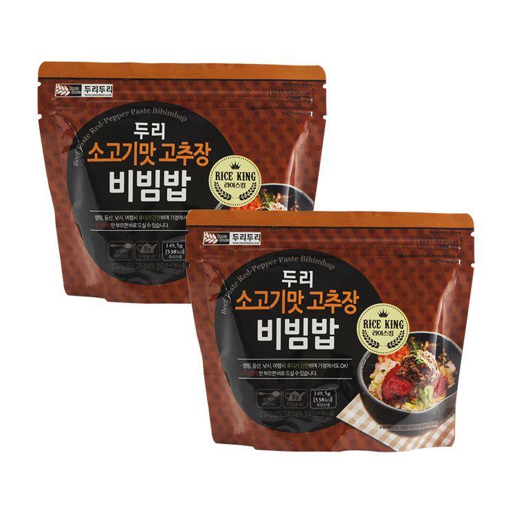 Korean Food Beef Taste Bibimbap MRE Asian food Hot Water Need Only *2EA | Sporting Goods, Outdoor Sports, Camping & Hiking | eBay!