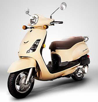 SYM Fiddle II 125cc Motor Scooter