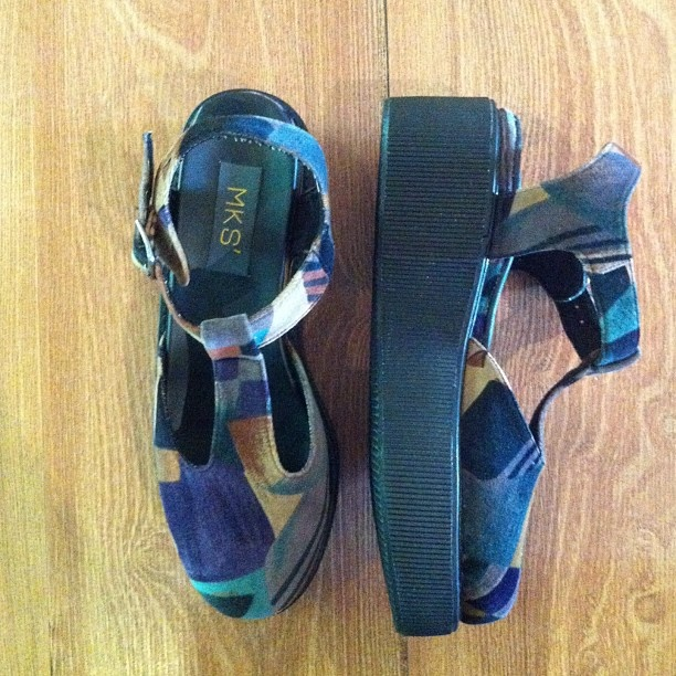 .High lander sandal green by @mksshoes available in our store