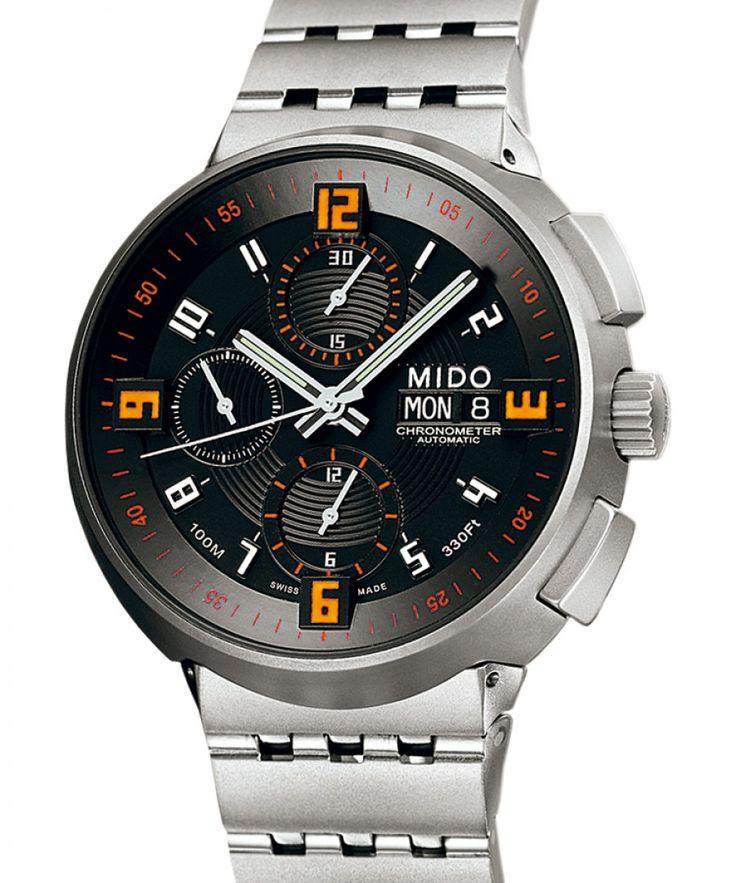 Mido | All Dial Big Gent Chronograph | Uhren-Datenbank watchtime.net