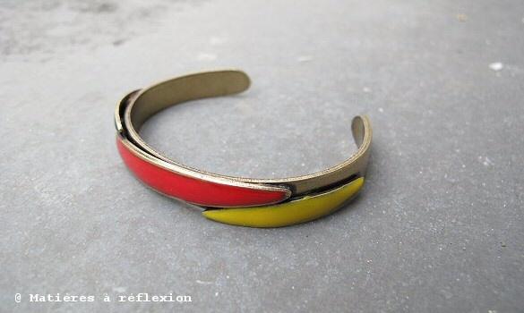 Bracelet Marine de Diesbach Banana Split