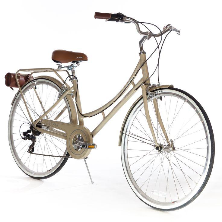 Nadine - City 7 Speed 700C - Vanilla from XDS Bike Co