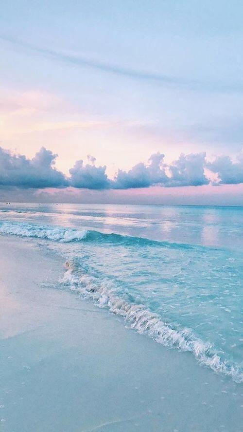 Permalink to Light Blue Beach Wallpaper