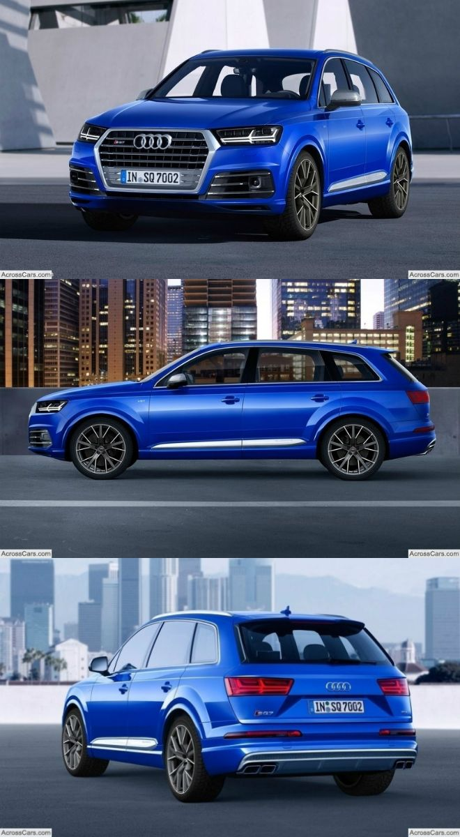 Audi Sq7 Tdi 2017 Cars Pinterest