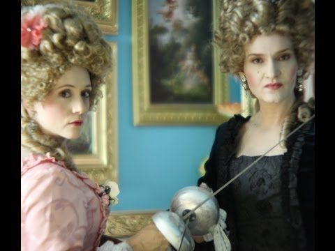 2 Titanic Actress Teach a Rococo Makeup Tutorial / Marie Antoinette Makeup /18th Century Makeup - YouTube
