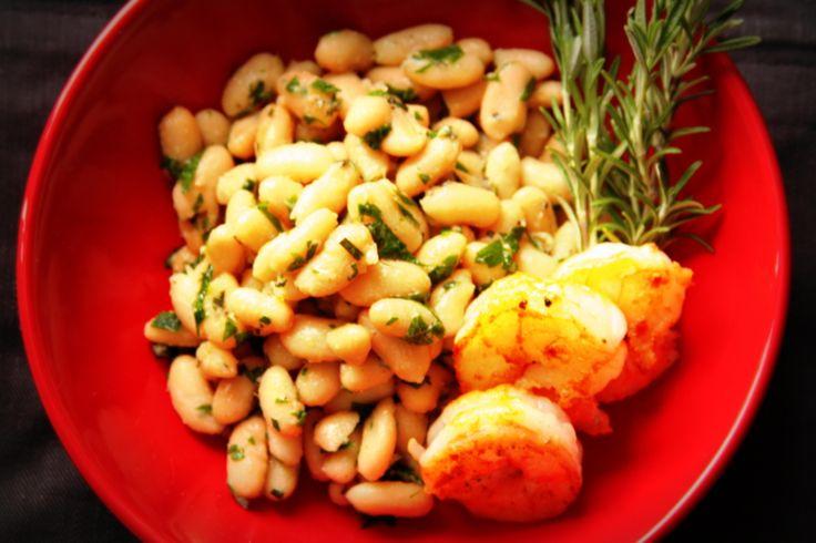 Galicky Tuscan White Bean Salad