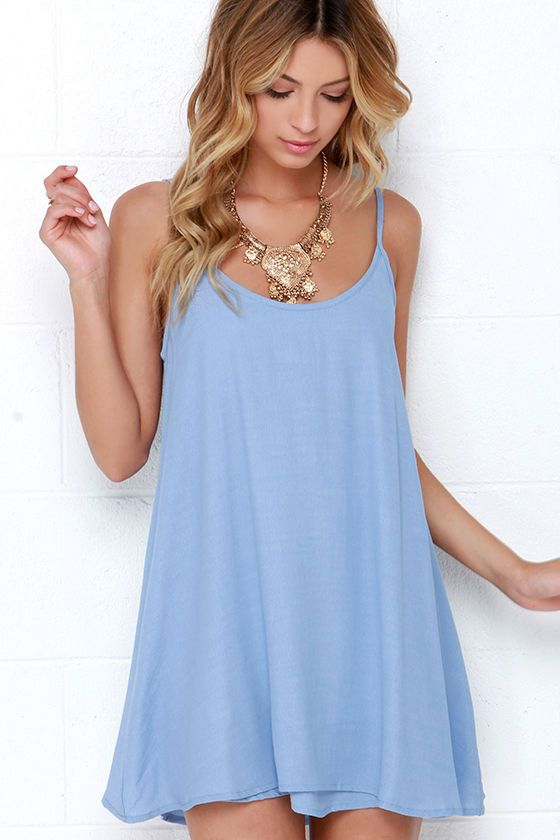 Summer Periwinkle Dress <3
