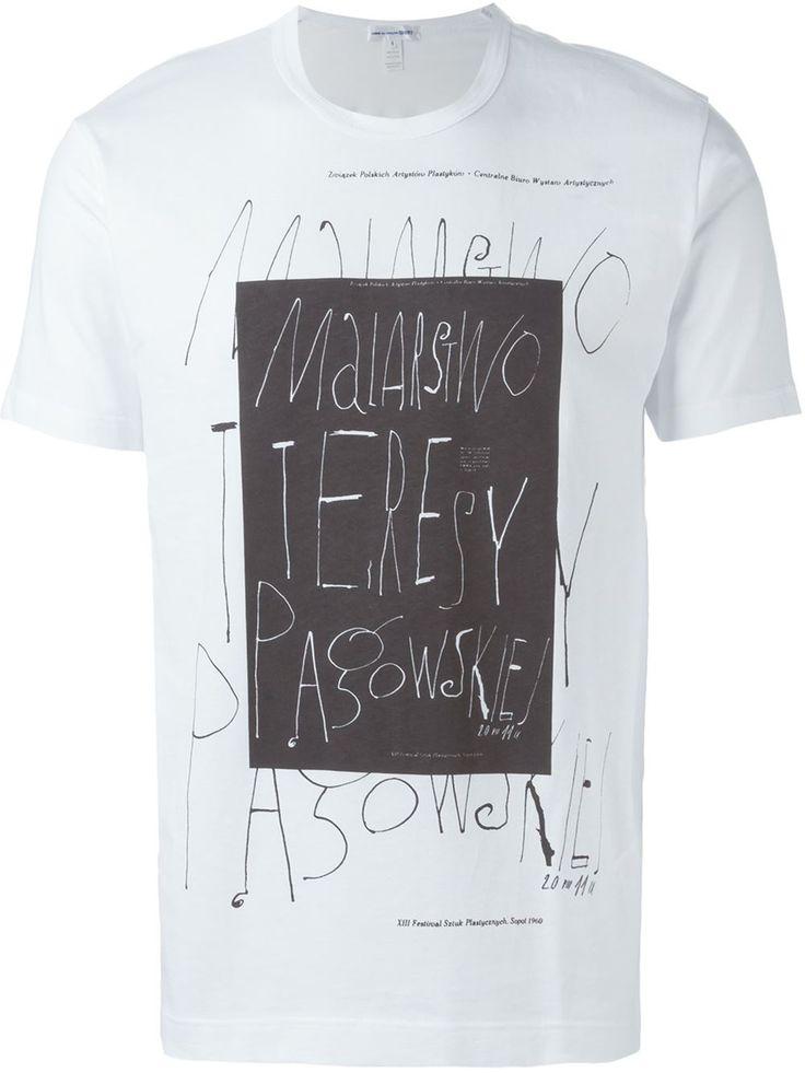 Comme Des Garçons Shirt プリント Tシャツ - Penelope - Farfetch.com