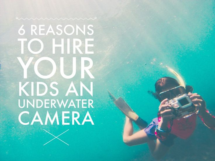 Underwater Camera Hire: 6 Reasons to let the Kids have a Go
