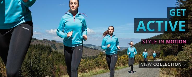 ONeills Active Range #oneills #getactive #fitness #ladies #fashion