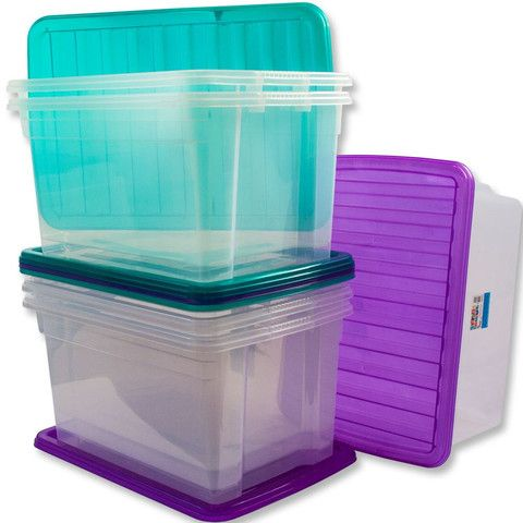 50L Plastic Stacker Box – Yorkshire Trading Company