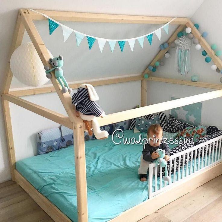 Die besten 25 hausbett ideen auf pinterest kinderleseecken schlafzimmerleseecken und - Kinderzimmer impressionen ...
