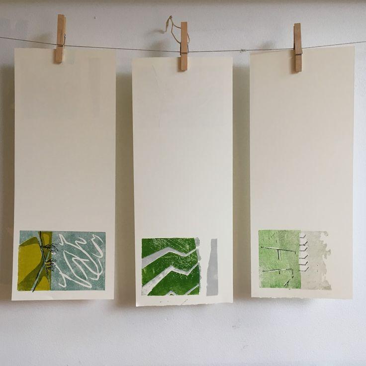woodcut prints for book 'Polder Dreams'/ Polderdromen #dutchlandscape #woodcutprint