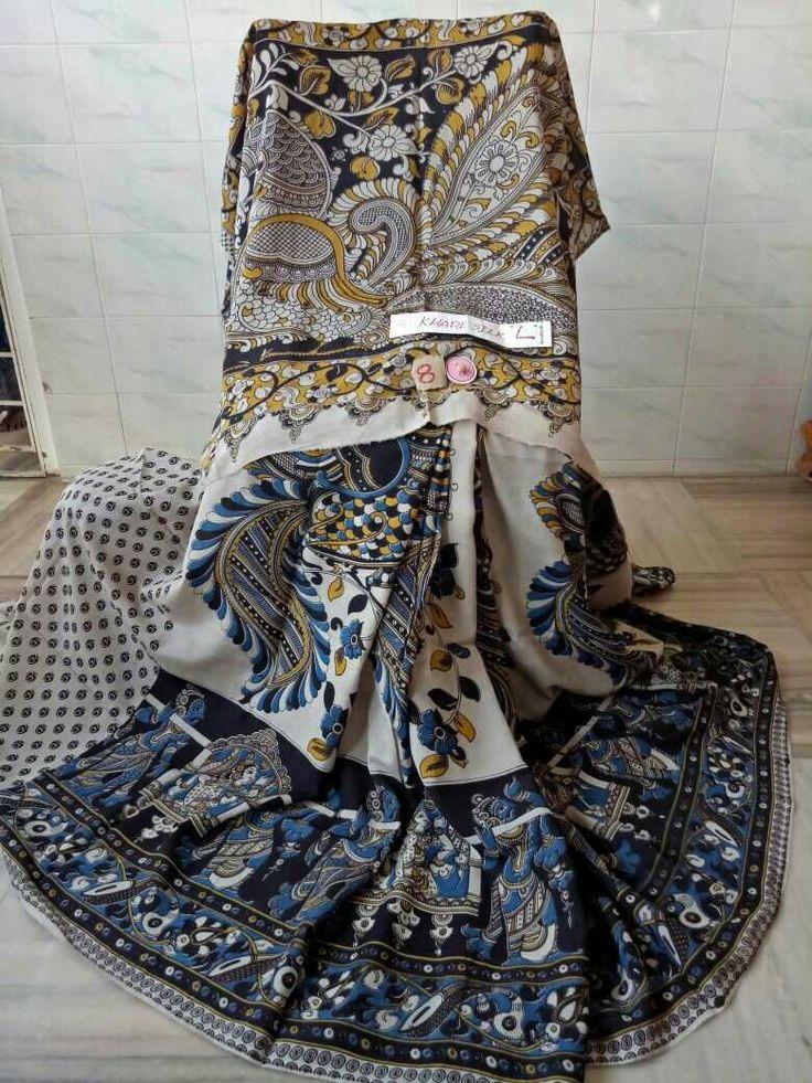 Kalamkari silk cotton sarees 007