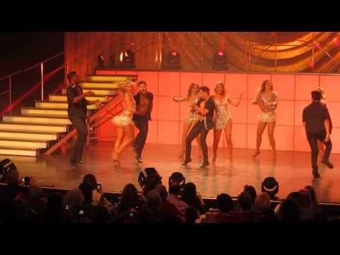 Alfonso Riberiro, Witney Carson, and Brittany then Final Bows Dancing wi...