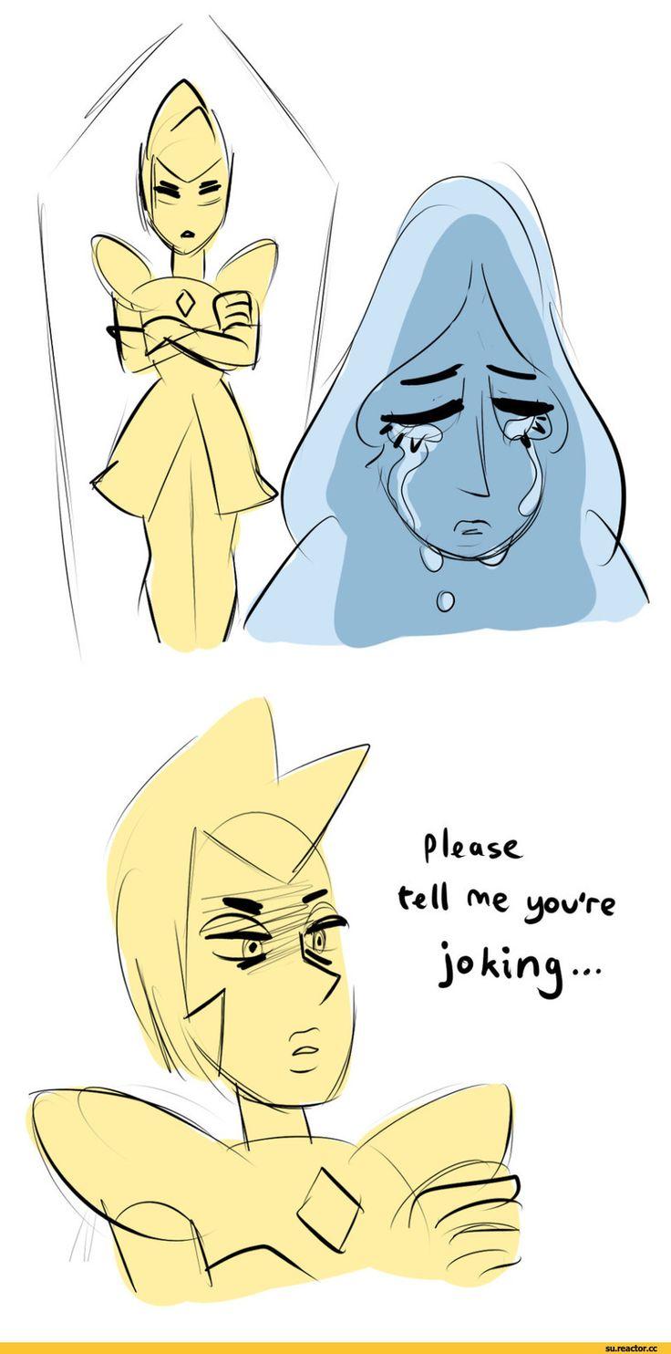 Steven universe,фэндомы,mrhaliboot,SU comics,Yellow Pearl,SU Персонажи,Yellow Diamond,Blue Pearl,Blue Diamond