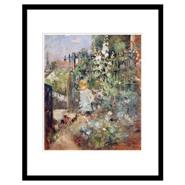 Check out this item at One Kings Lane! Berthe Morisot, A Child In the Rosebeds