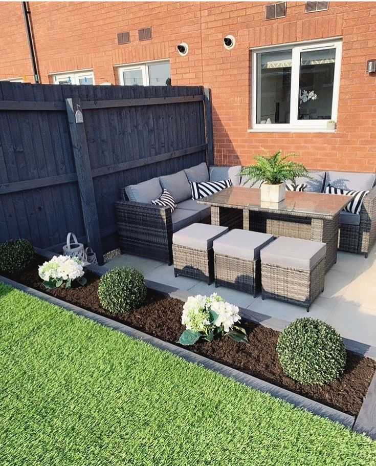 Pin On Diy Small Patio Ideas On A Budget Diy Small Patio Ideas On A Budget Backyards 37 Best Patio Garden Design Back Garden Design Small Backyard Landscaping