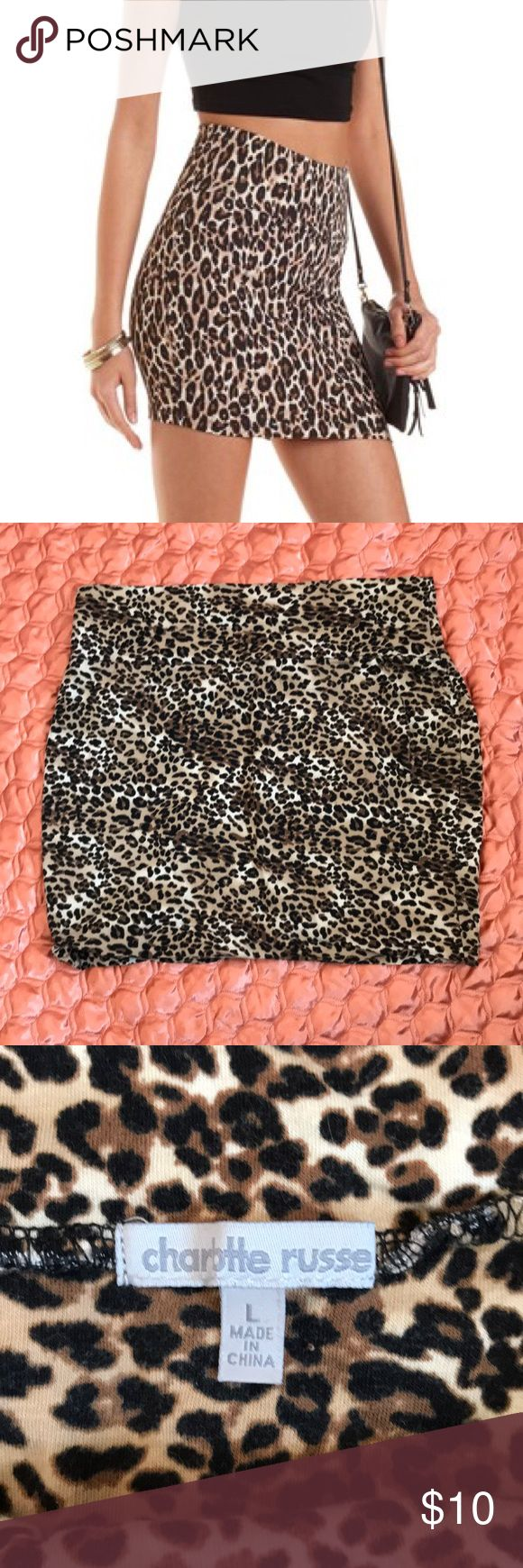Best 25 leopard print skirt ideas on pinterest jeans jacket for charlotte russe bodycon leopard print skirt size l bankloansurffo Choice Image